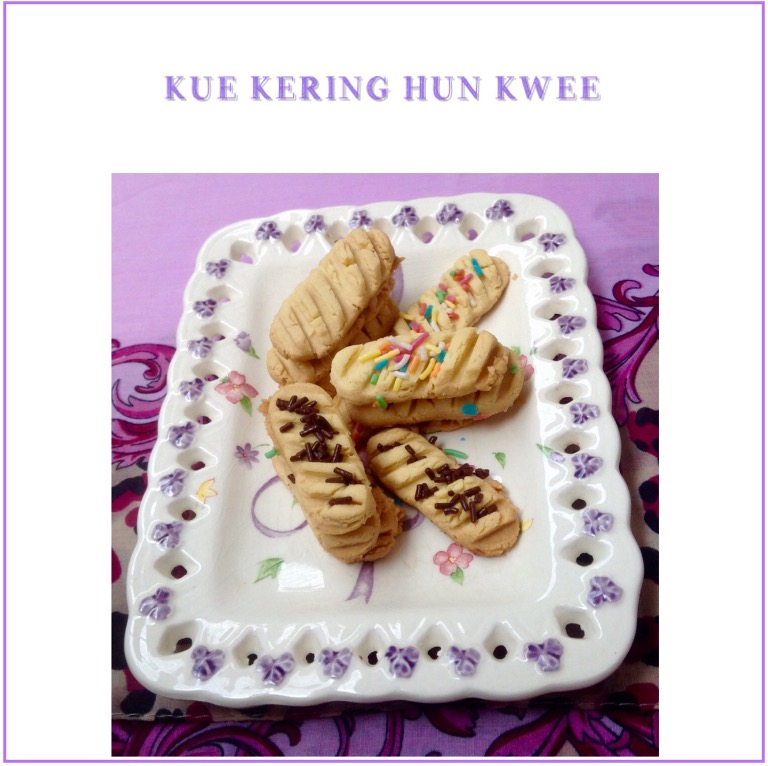 Resep Kue Kering Hun Kwee