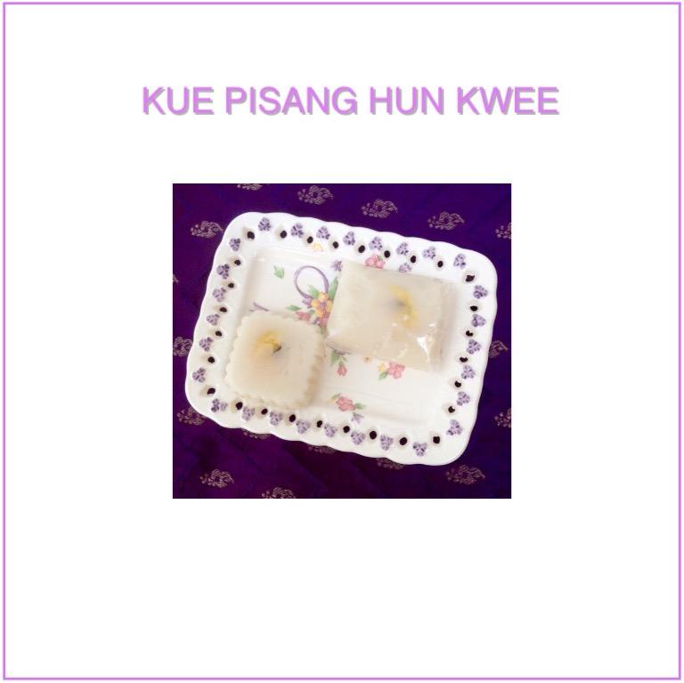 Resep Kue Pisang Hun Kwee