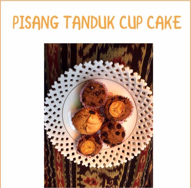 Resep Pisang Tanduk Cupcake