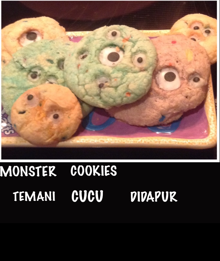 Resep Monster Cookie