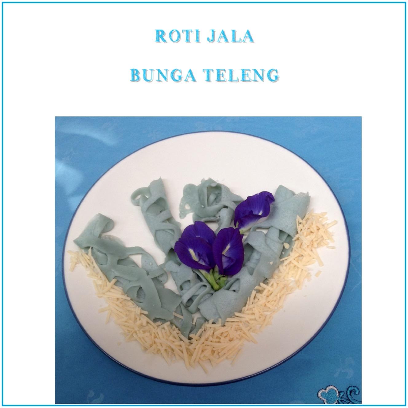 Resep Roti Jala Bunga Teleng
