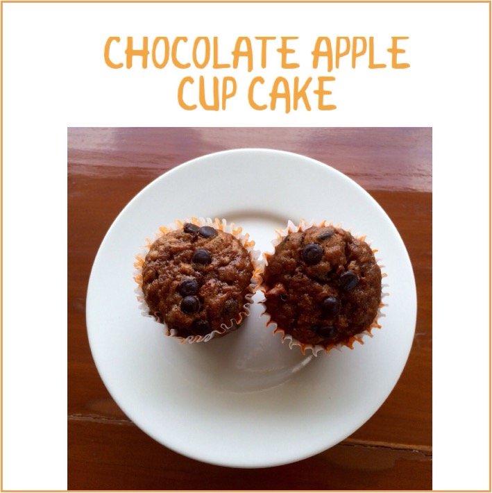 Resep Chocolate Apple Cupcake