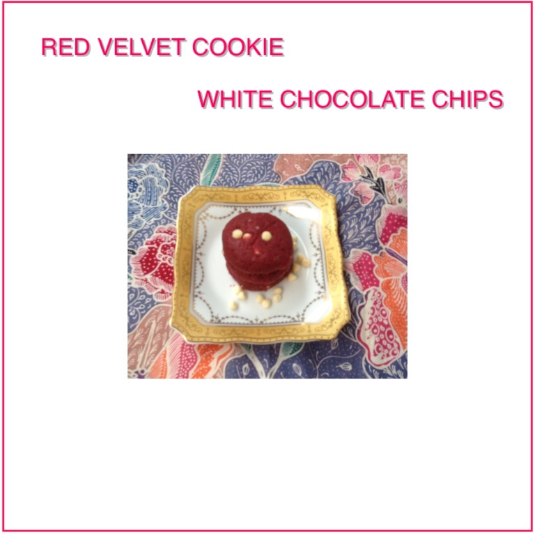 Red Velvet Cookie White Chocolate Chips