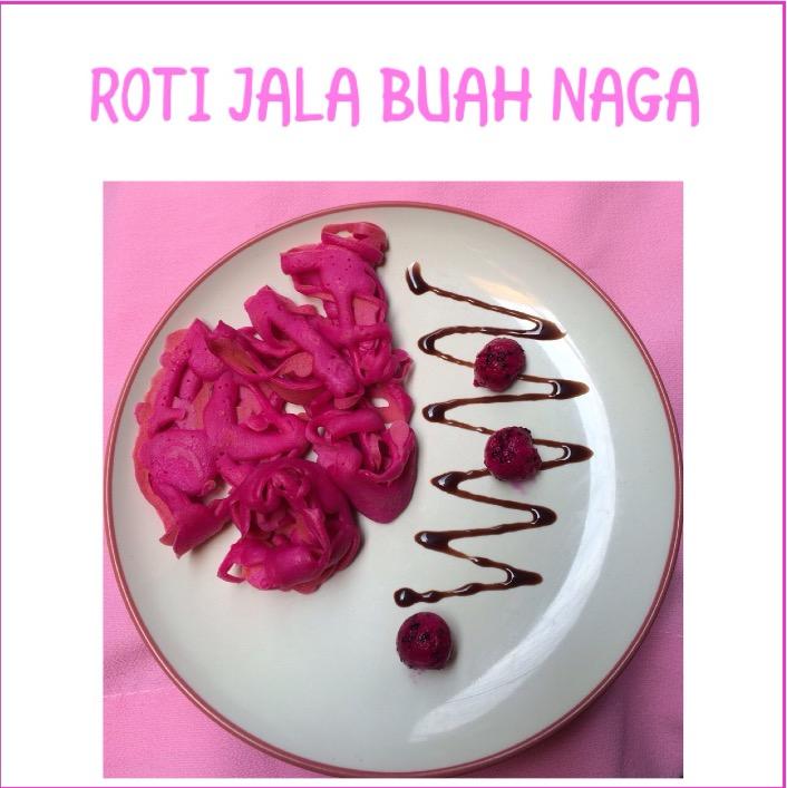 Resep Roti Jala Buah Naga