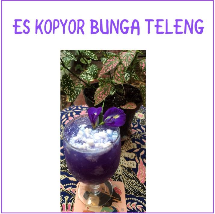 Resep Es Kopyor Bunga Teleng