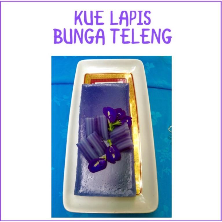 Resep Kue Lapis Bunga Teleng