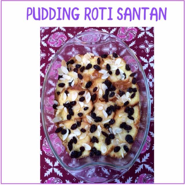 Resep Pudding Roti Santan