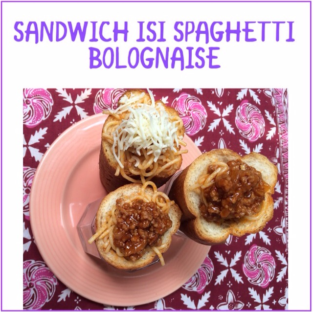 Resep Sandwich isi Bolognese