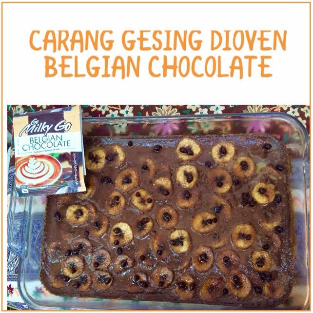 Resep Carang Gesing Dioven Belgian Chocolate