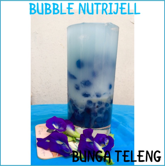 Resep Bubble Nutrijell Bunga Teleng