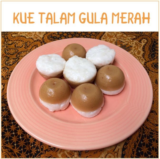 Resep Kue Talam Gula Merah
