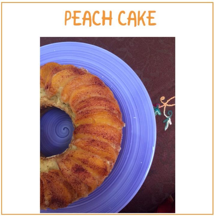 Resep Peach Cake