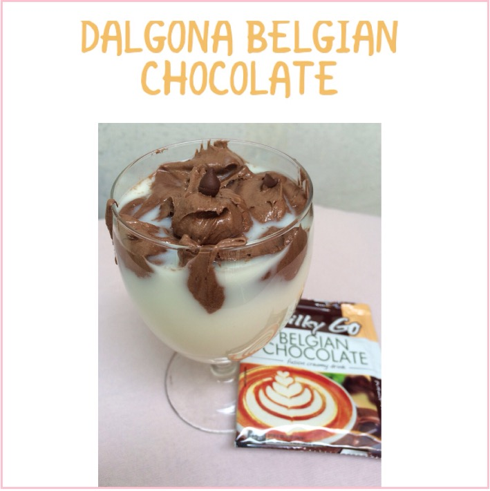 Resep Dalgona Belgian Chocolate