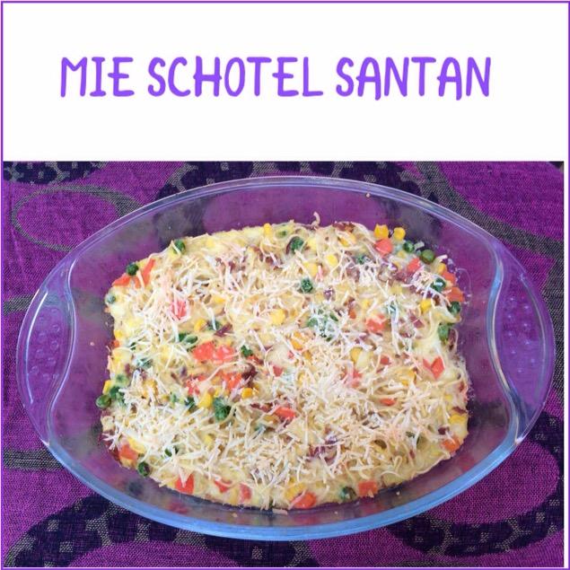 Resep Mie Schotel Santan