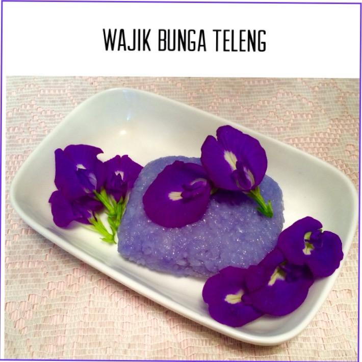 Resep Wajik Bunga Teleng