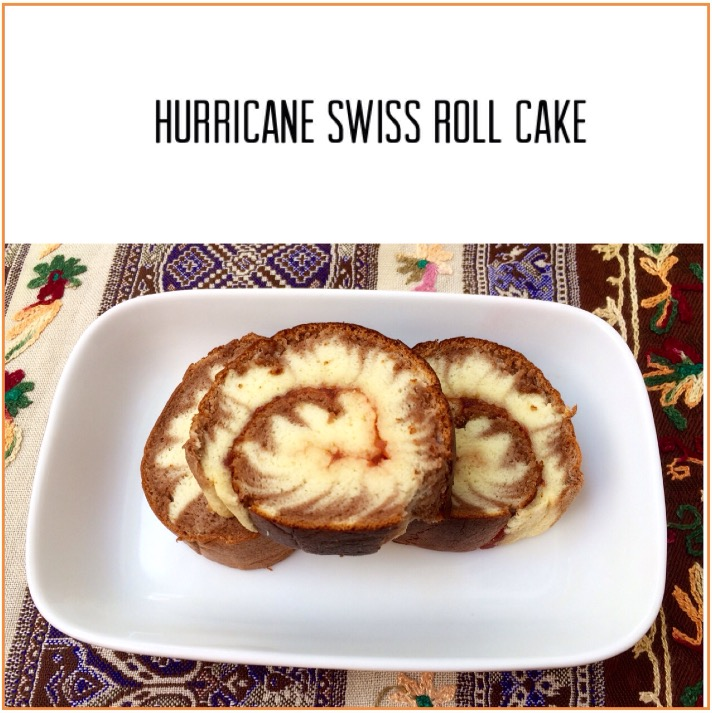 Resep Hurricane Swiss Roll Cake