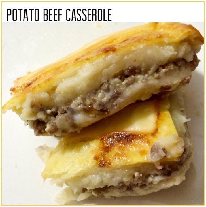 Resep Potato Beef Casserole