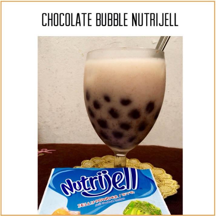 Resep Chocolate Bubble Nutrijell