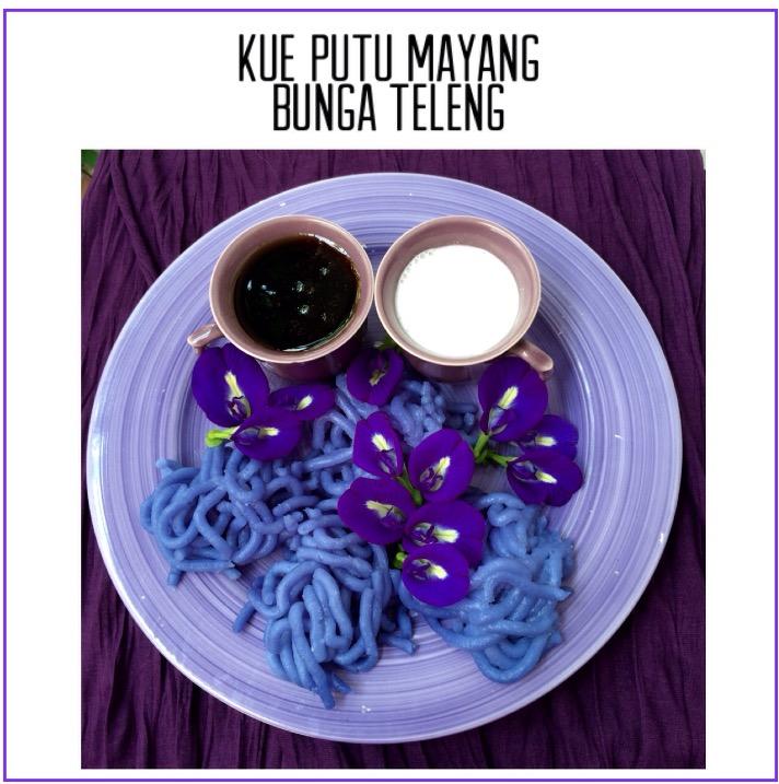 Resep Kue Putu Mayang Bunga Teleng