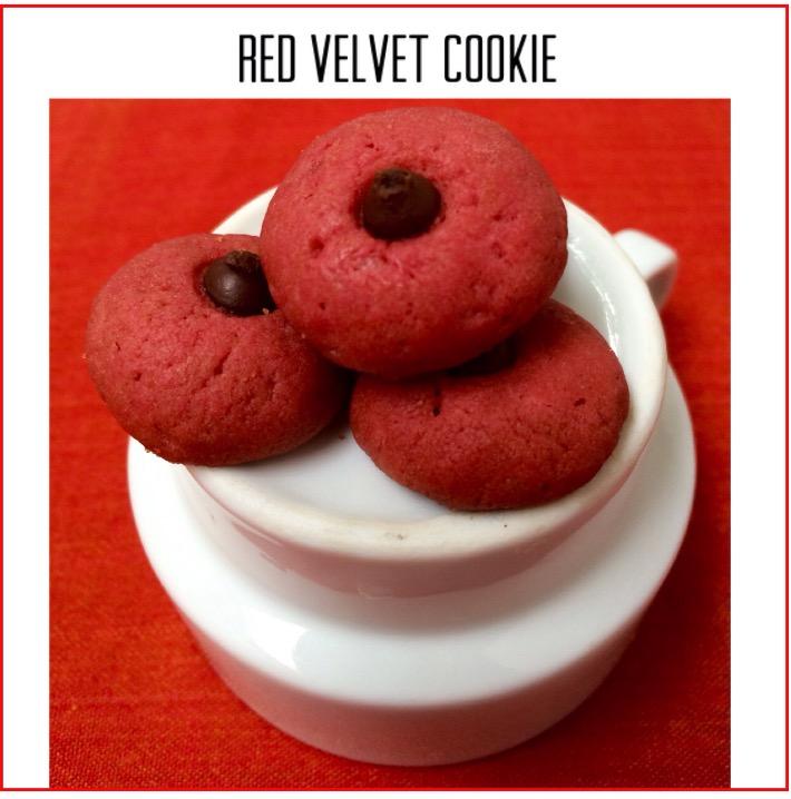 Resep Red Velvet Cookie