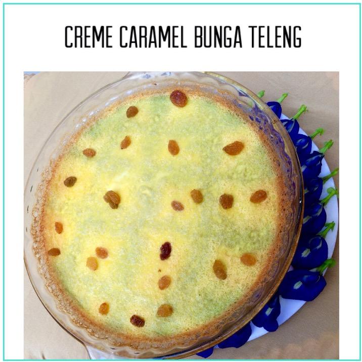 Resep Creme Caramel Bunga Teleng