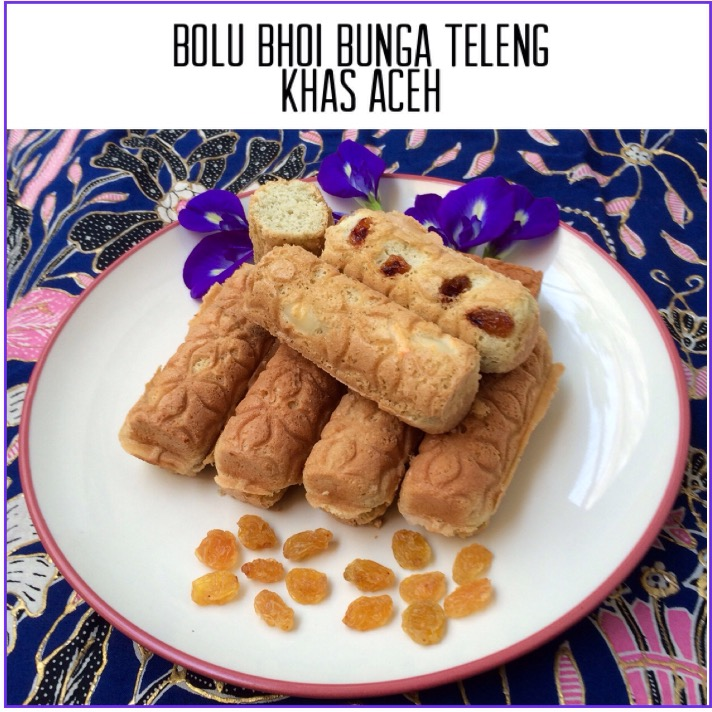 Bolu Bhoi Bunga Teleng Khas Aceh