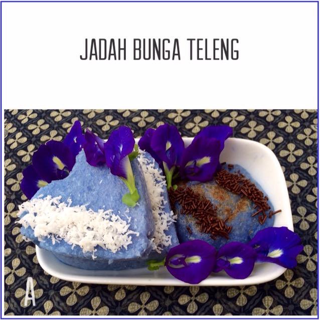 Resep Jadah Bunga Teleng