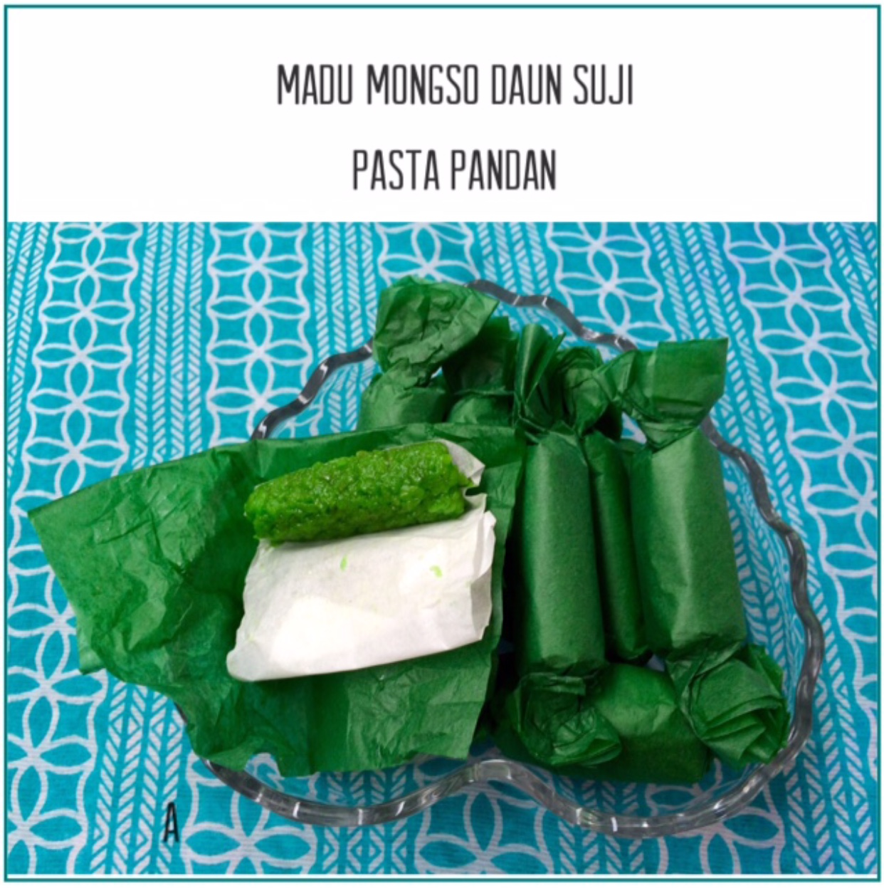 Resep Madu Mongso Daun Suji Pasta Pandan