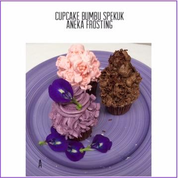 Resep Cupcake Bumbu Spekoek Aneka Frosting