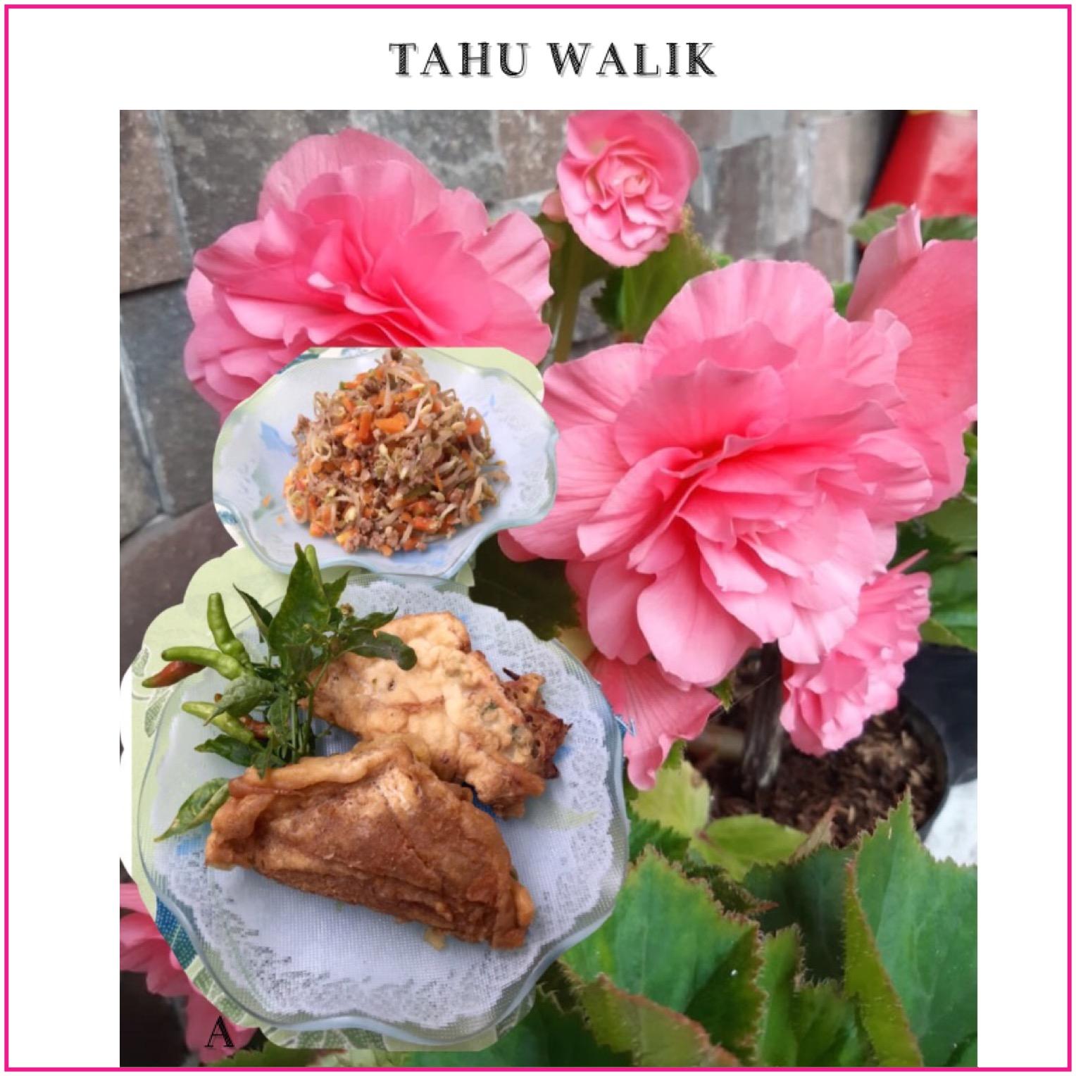 Resep Tahu Walik