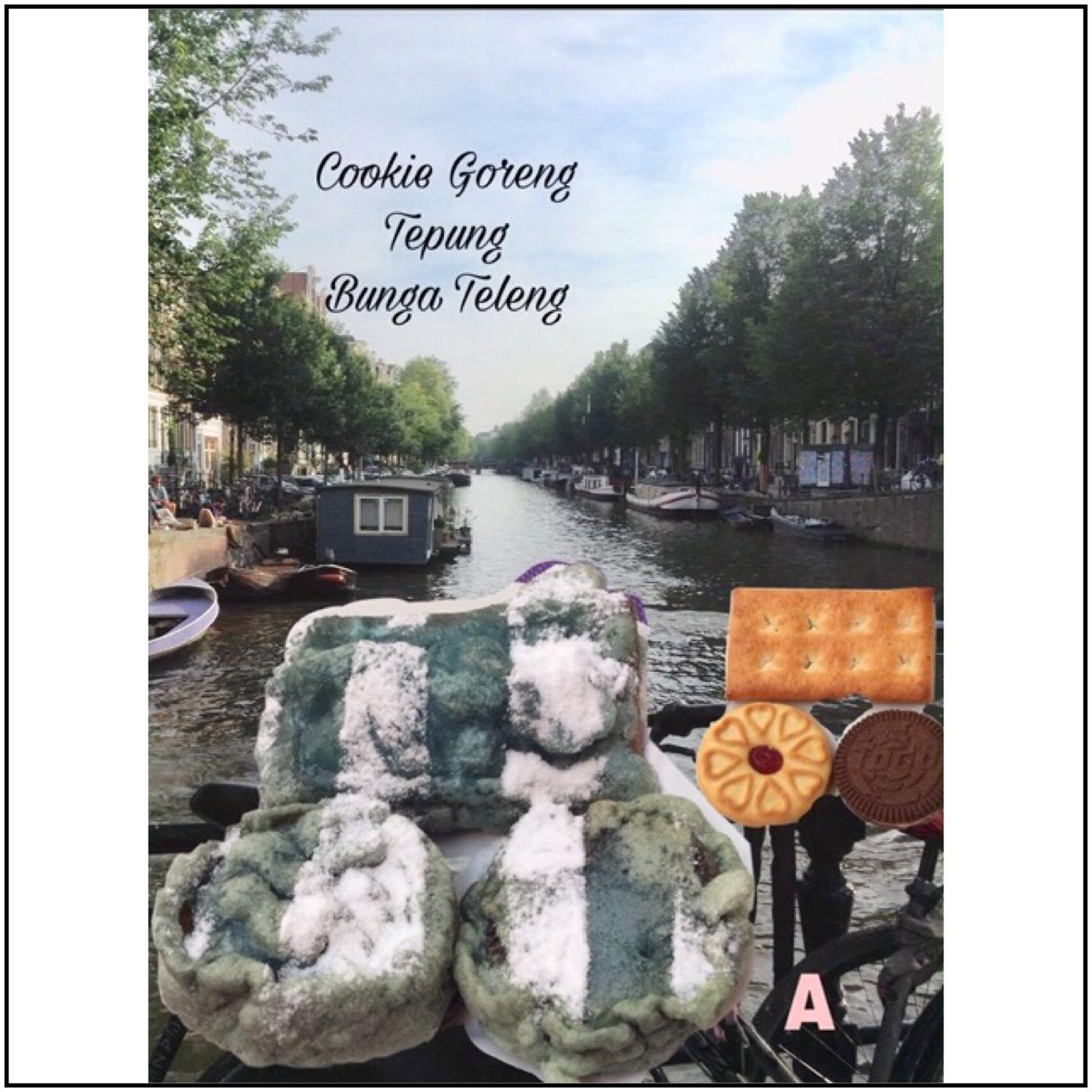 Resep Cookie Goreng Tepung Bunga Teleng