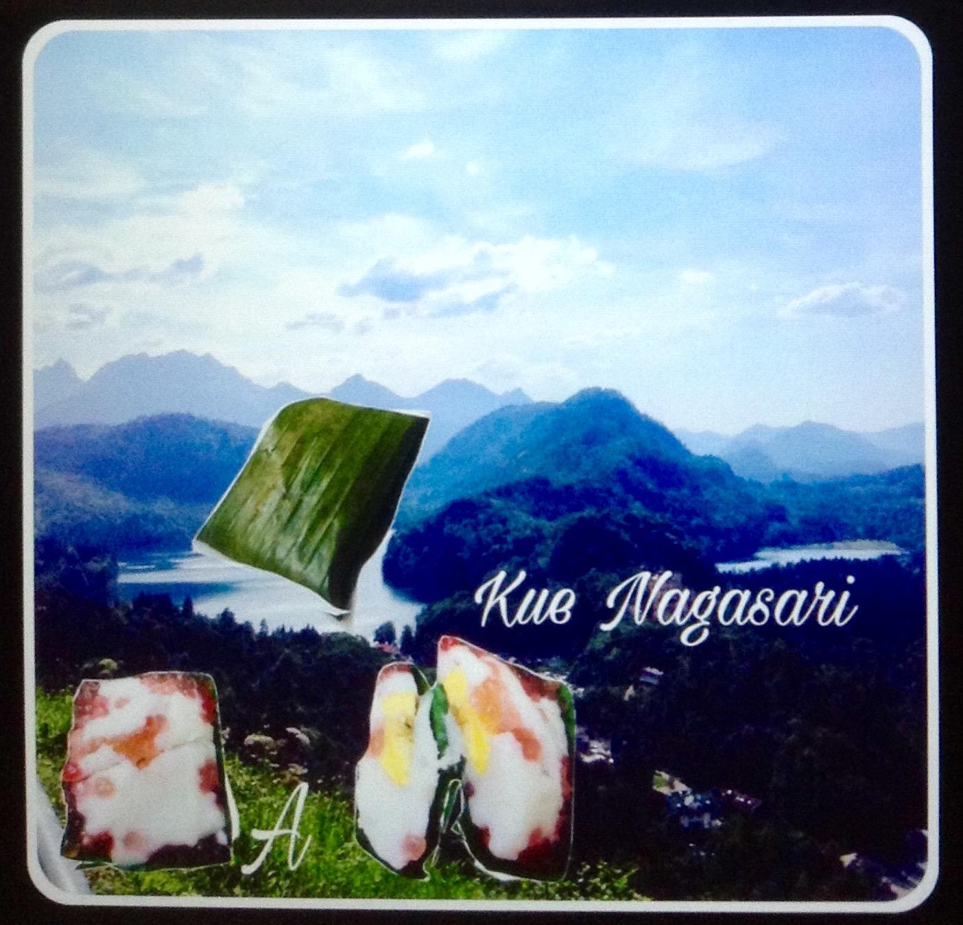 Kue Nagasari Isi Sagu Mutiara Pisang