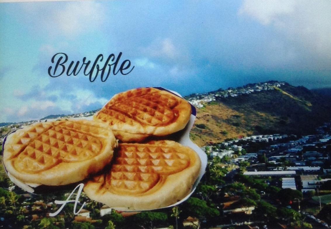 Resep Burffle Burger Waffle