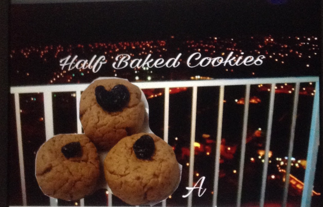 Resep Half Baked Cookies