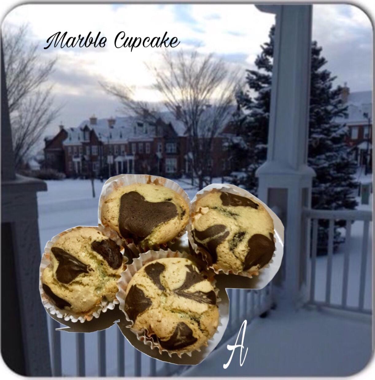 Resep Marble Cupcake