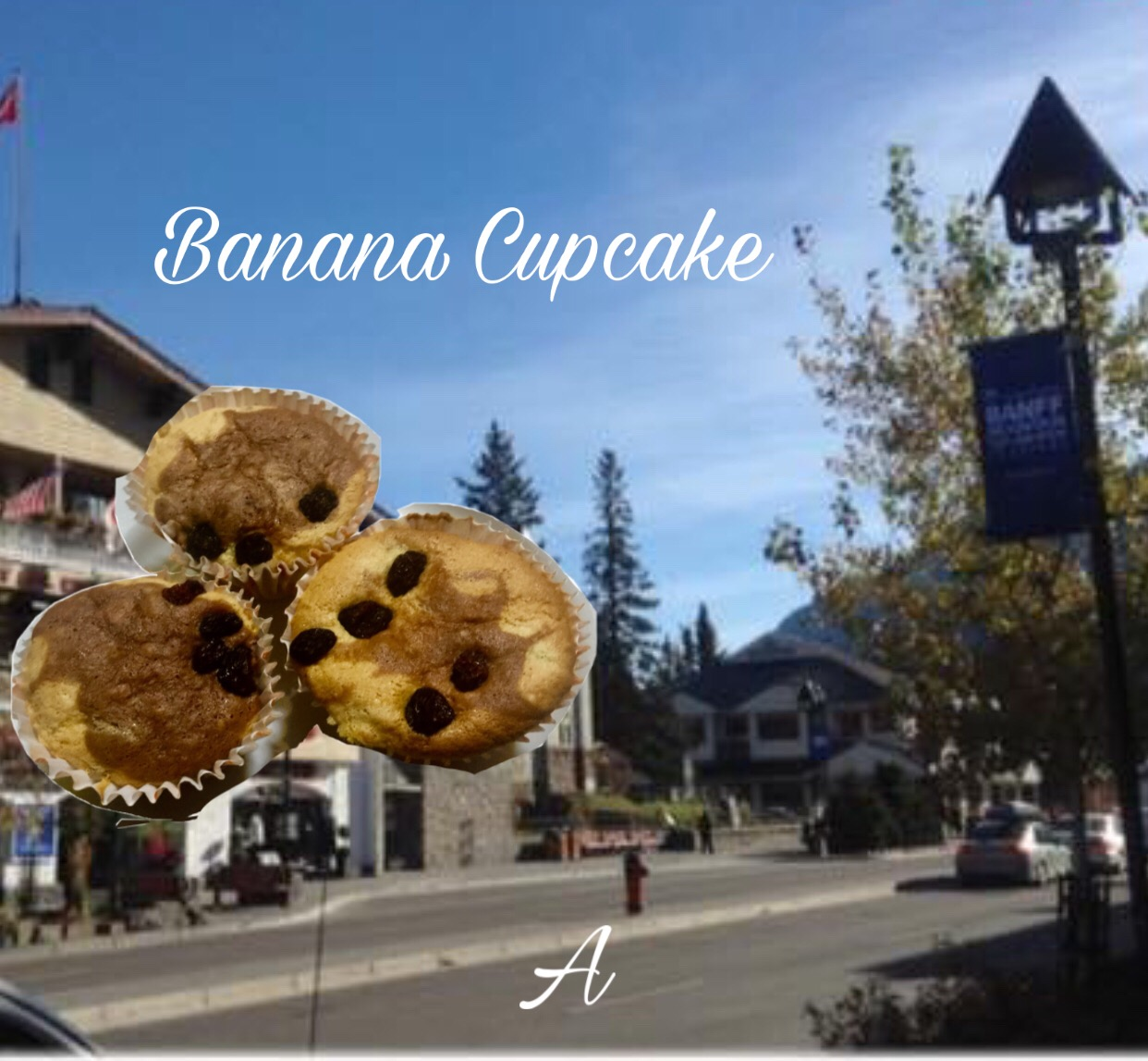 Resep Banana Cupcake