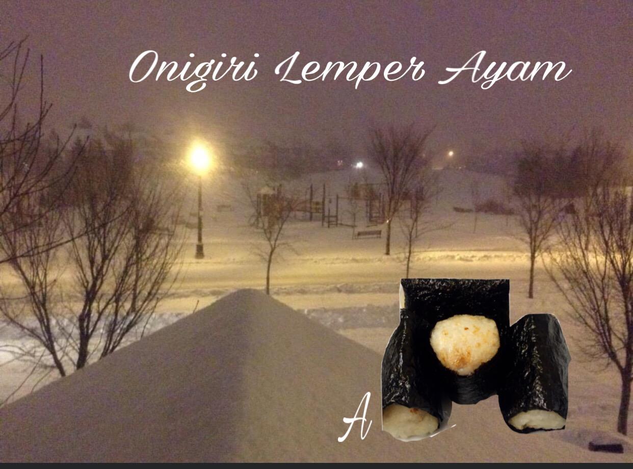 Resep Onigiri Lemper Ayam