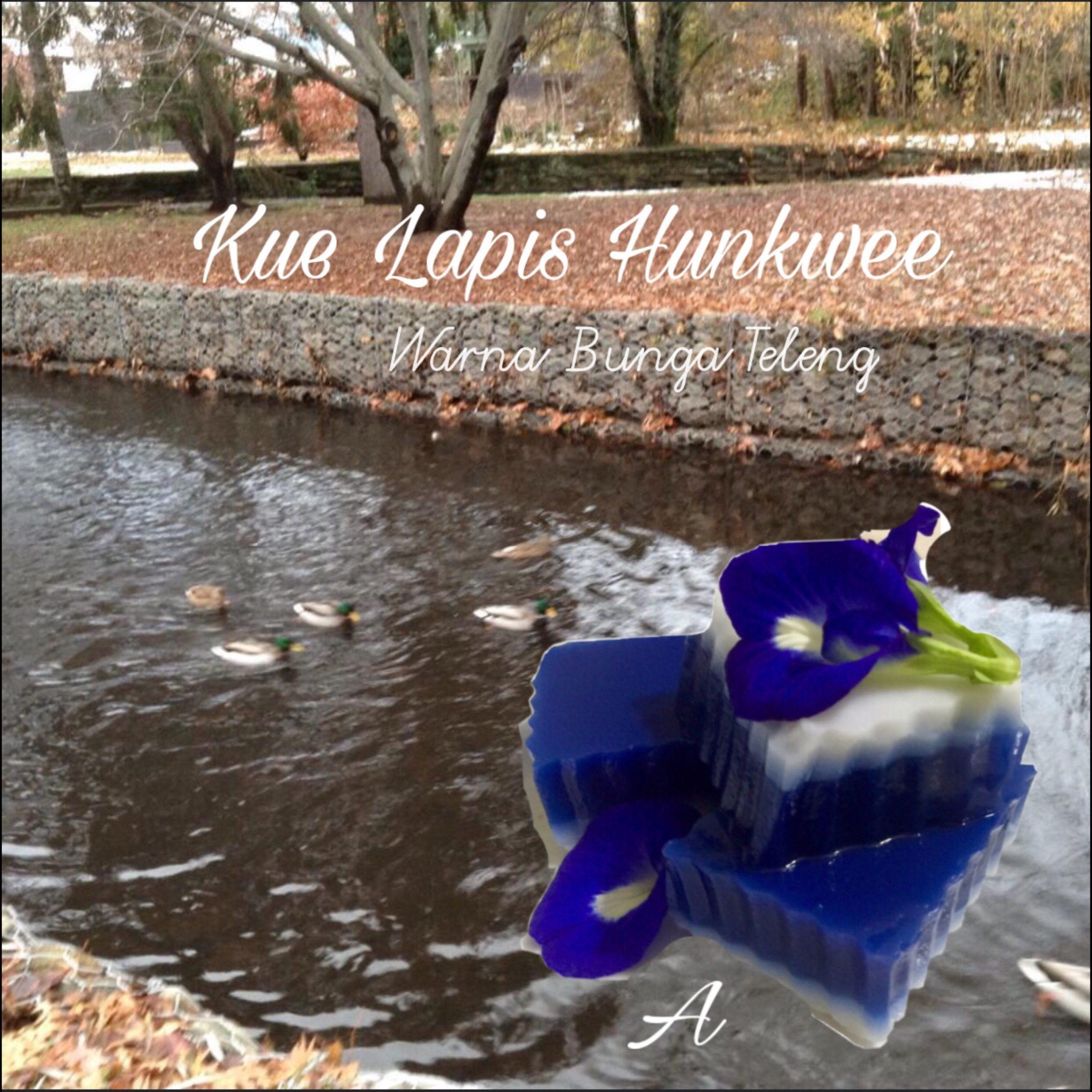 Resep Kue Lapis Hunkwee  Warna Bunga Teleng
