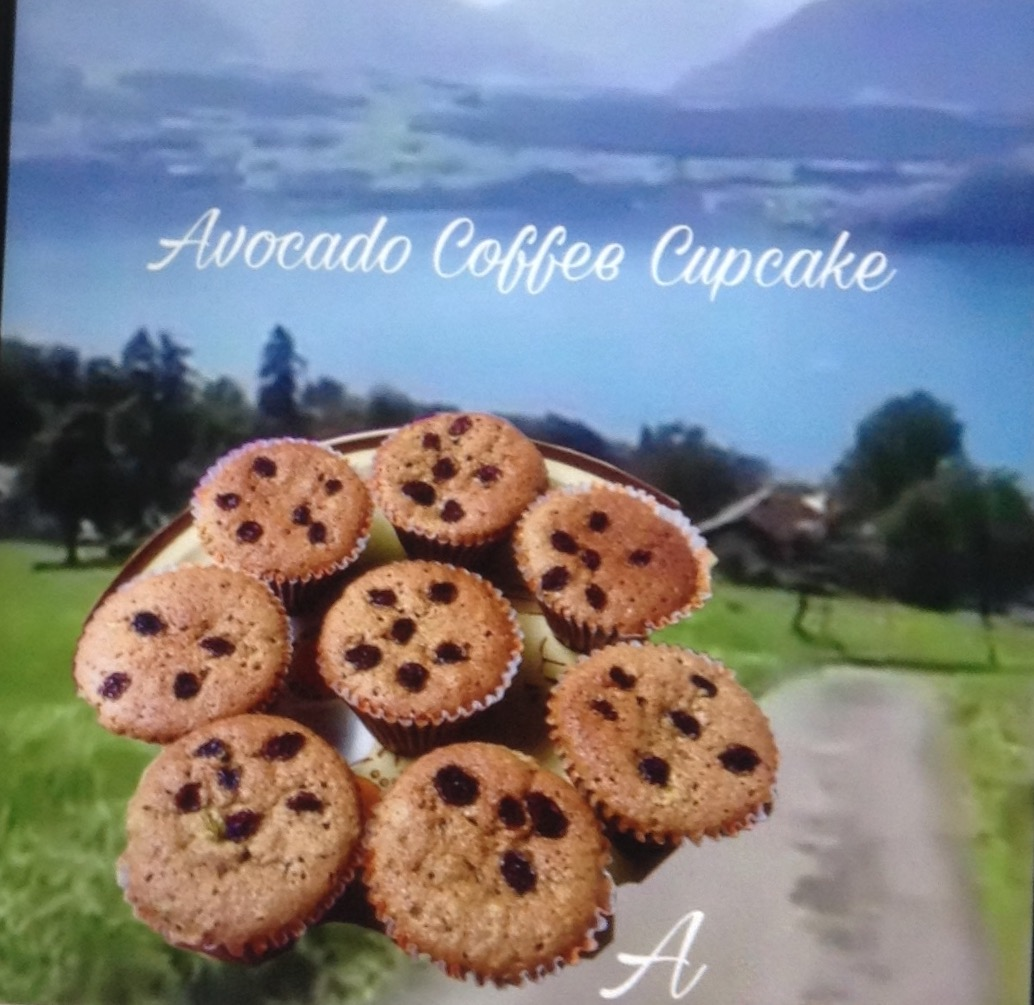 Resep Avocado Coffee Cupcake