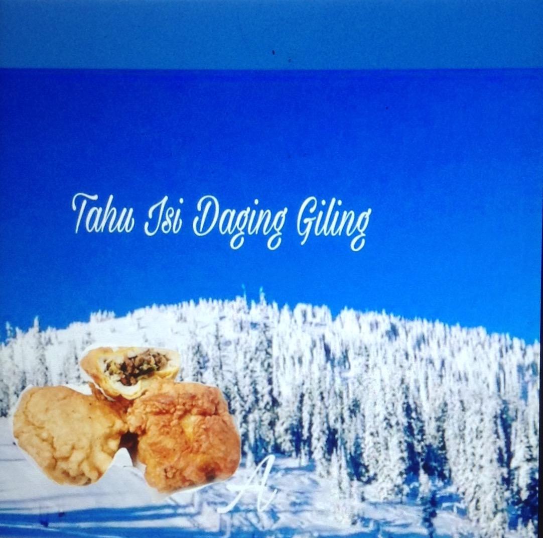 Resep Tahu Isi Daging Giling