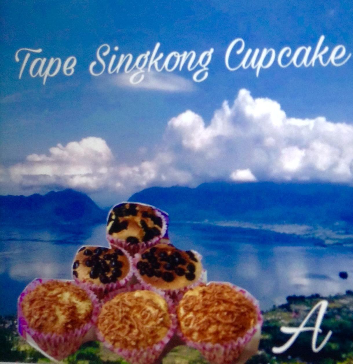 Resep  Tape Singkong Cupcake