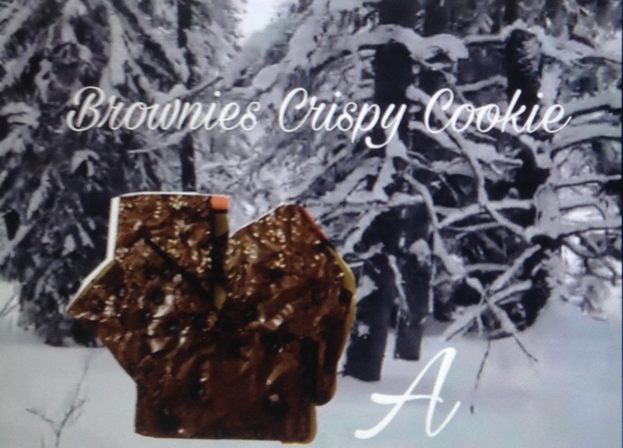 Resep Brownies crispy cookie