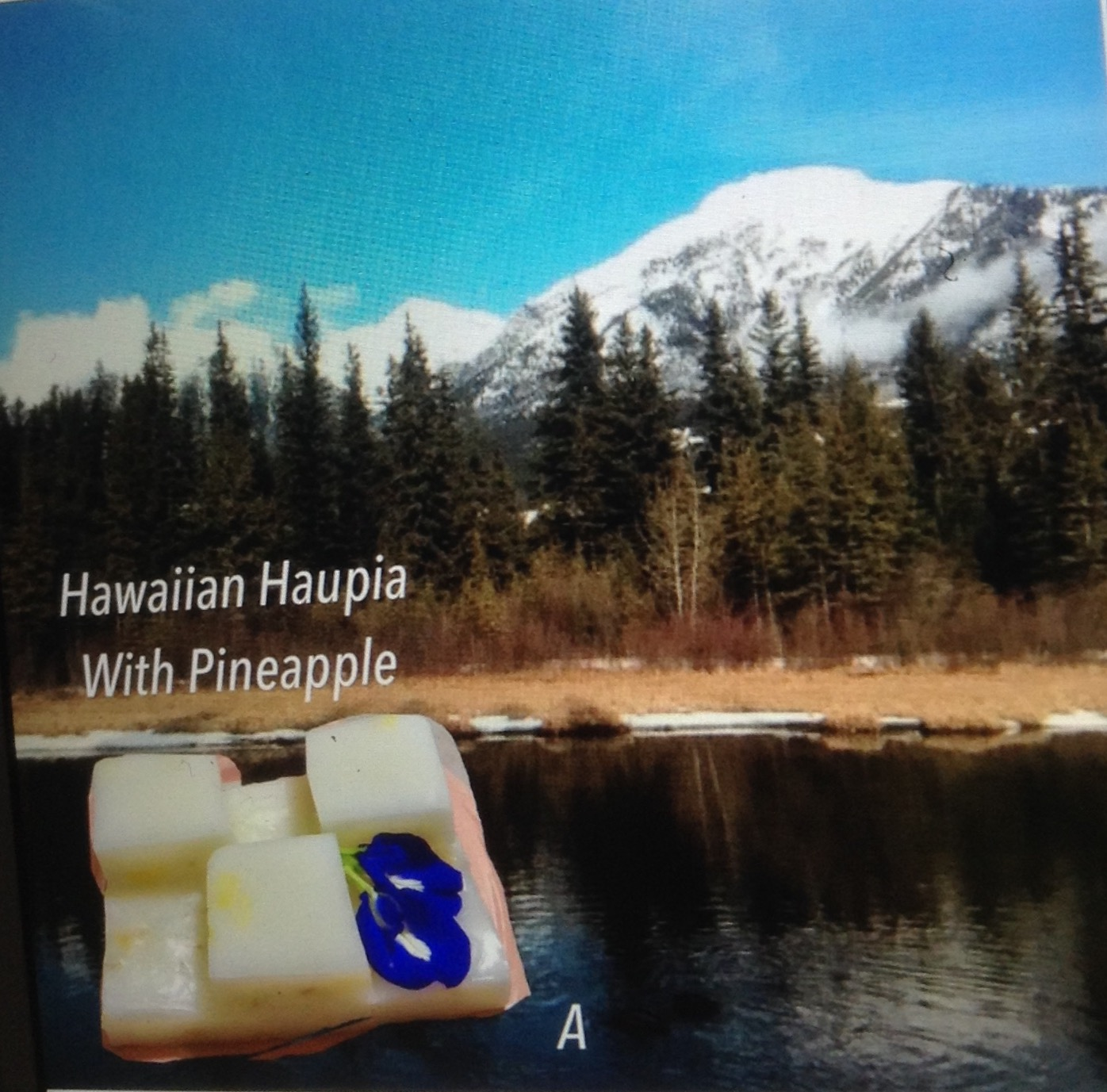 Resep Hawaiian Haupia With Pineapple