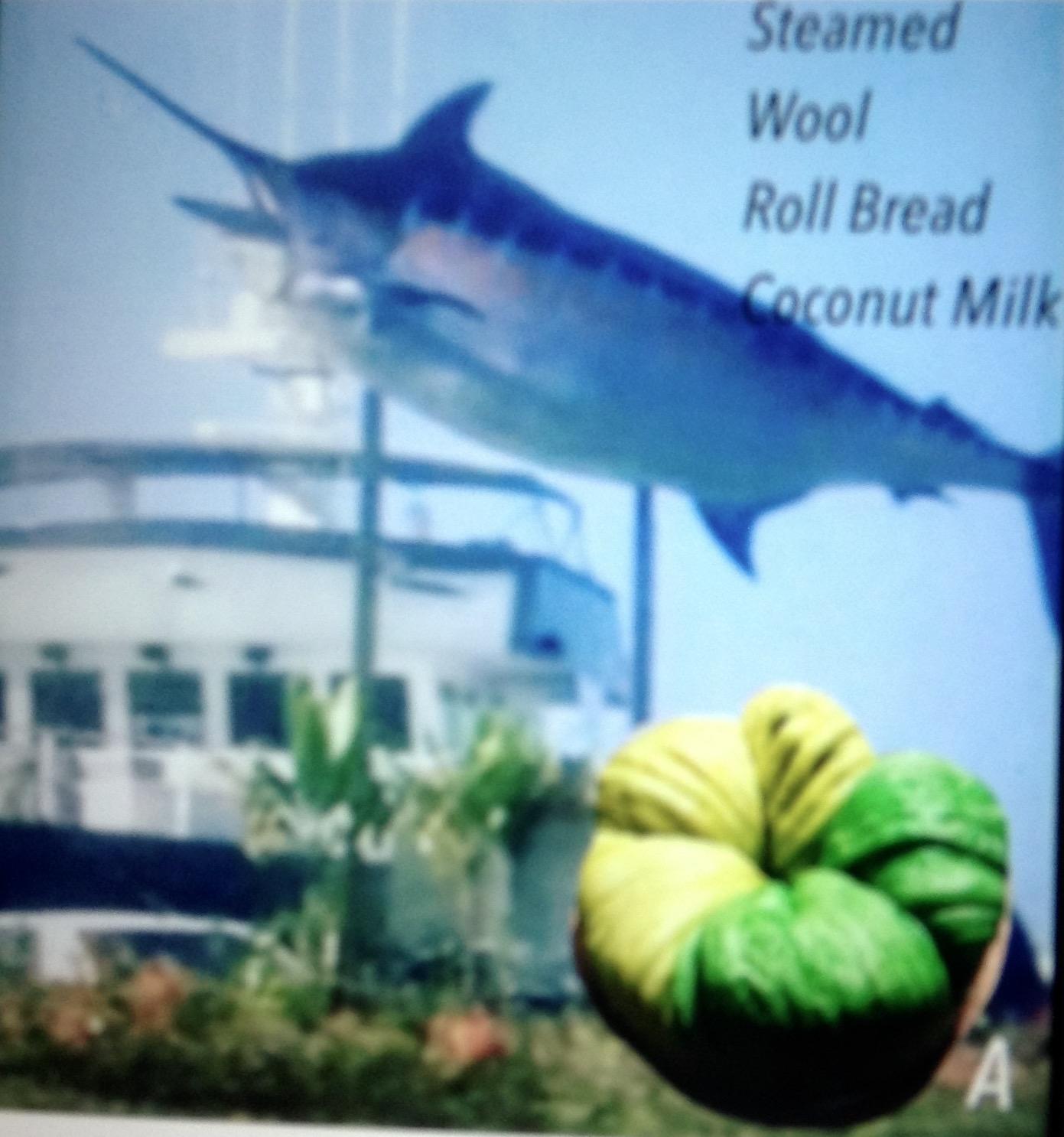 Resep Steamed Wool Roll Bread Coconut Milk